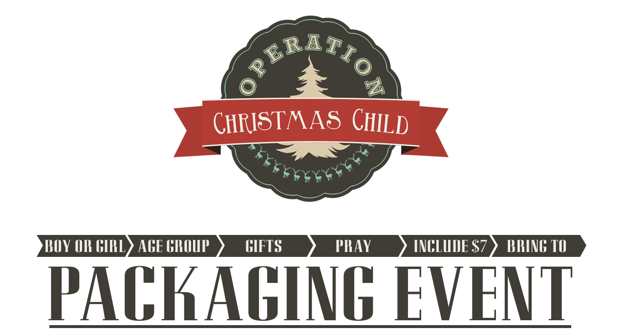 Operation Christmas Child Packaging Event - OB One Church